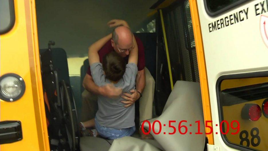 Special Ed. School Bus Evacuation — In Under 1 1/2 Minues