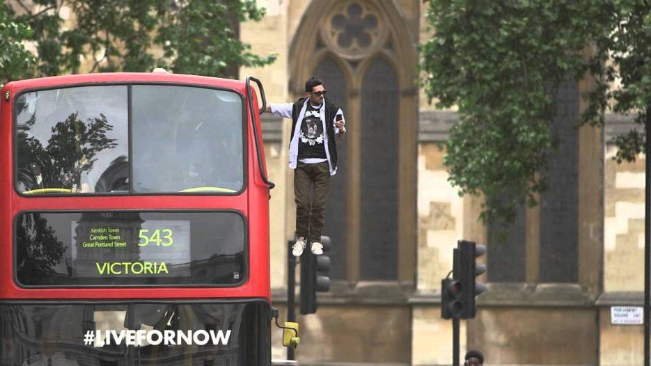 Pepsi Max & Dynamo present: «Bus Levitation» #LiveForNow