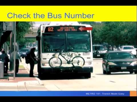 METRO 101: How to Ride the Bus