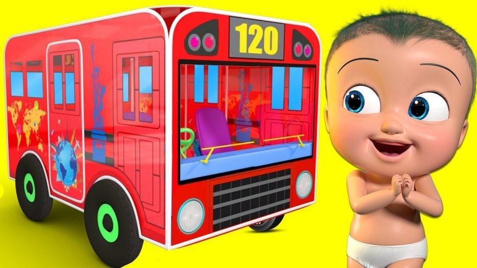 Wheels on the Bus Indoor   BST Kids Songs & Nursery Rhymes
