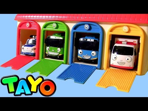 Tayo the Little Bus Garage Station Toys