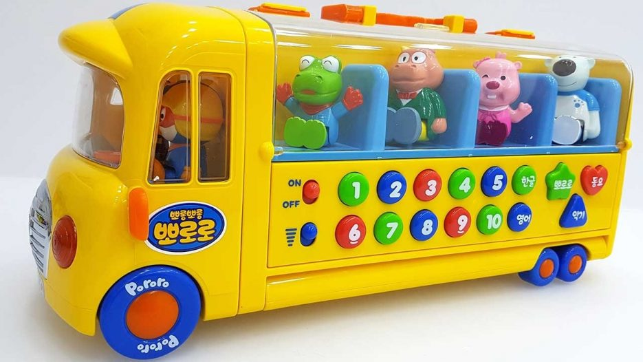 Bus Toys For Children Pororo Bus Learn Numbers With pororo Bus Toys For Children