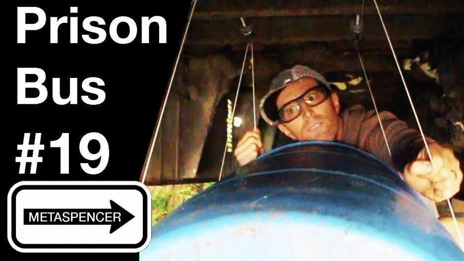 Gray Tank Trouble — Prison Bus Conversion #19