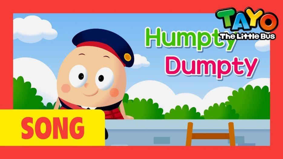 Tayo song Humpty Dumpty l Nursery Rhymes l Tayo the Little Bus