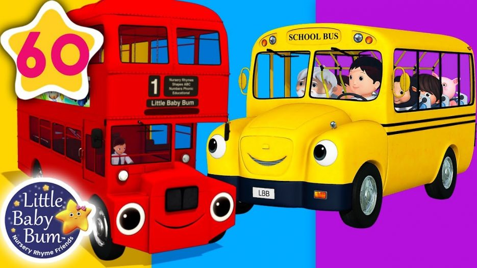 Bus Song   Different Types of Buses + More Nursery Rhymes & Kids Songs   Little Baby Bum