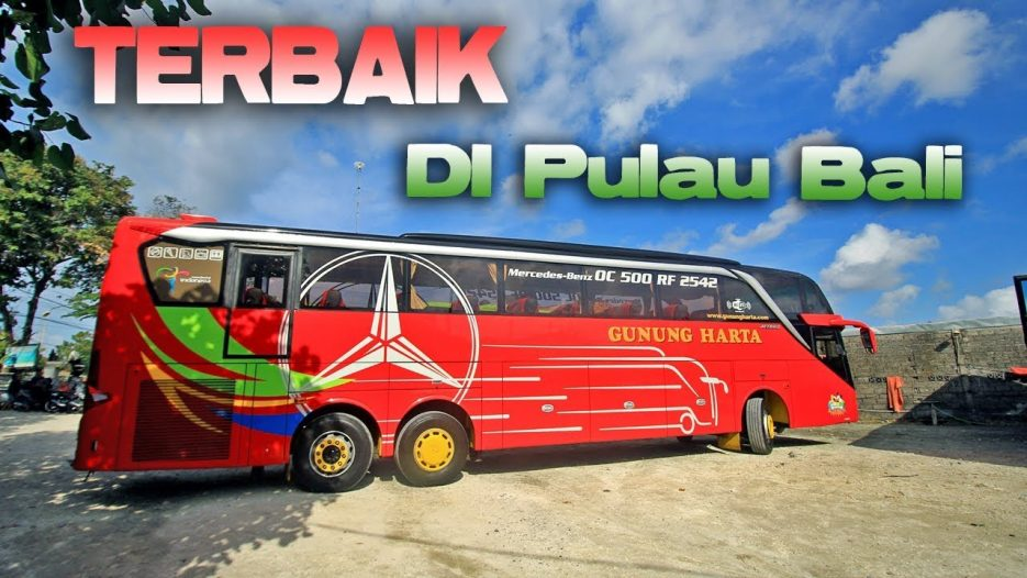 Trip BUS ARTIS DAN TERBAIK DI PULAU BALI | Gunung Harta Tronton Denpasar SBY Part 1