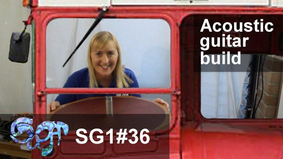 SuGar SG1 acoustic guitar build part 36: Steering the bus