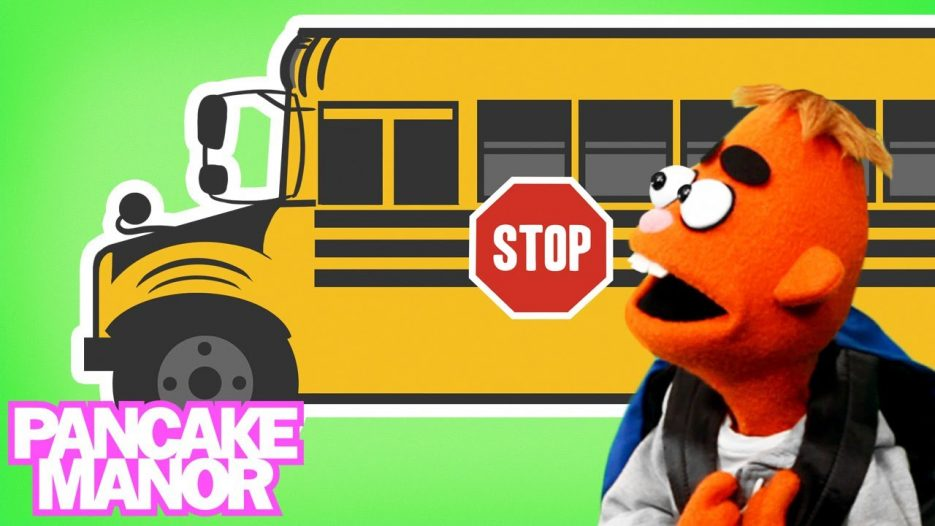 Wheels on the Bus   Song for Kids   Pancake Manor