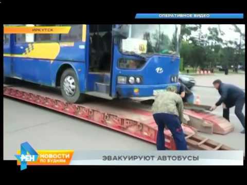 Неисправные автобусы — на штрафстоянку