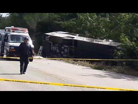 Mexico tour bus crash: Eight Americans among the dead