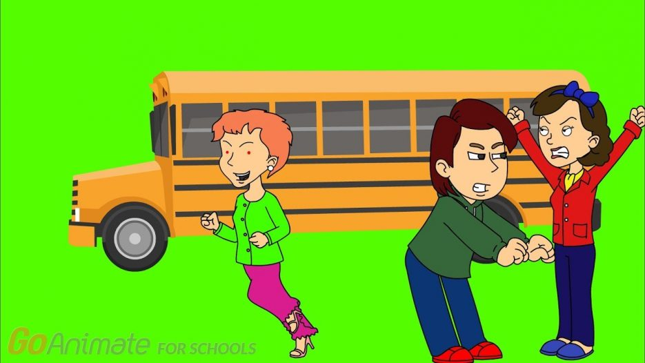 Daisy Steals The Boot Camp School Bus