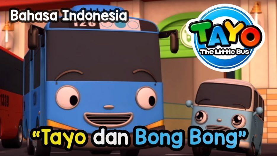 The Little Bus Tayo Bahasa Indonesia — Tayo dan Bong bong
