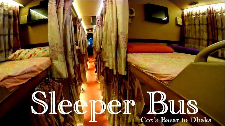 Cox's Bazar to Dhaka Sleepy Coach   Sleeper Bus   President Travels   Sleeper Coach in Bangladesh