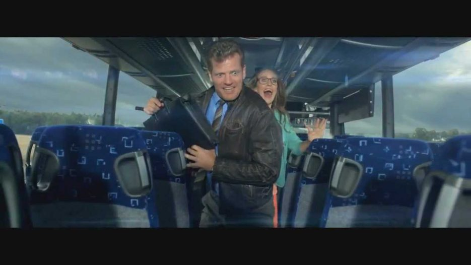 Epic Bus Ad from Denmark (English Subtitles — HTML5)  Midttrafik — «The Bus»