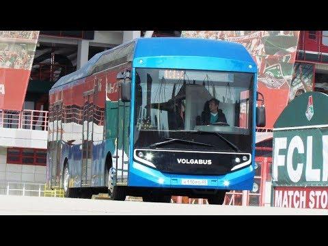 Электрический Volgabus. Московская премьера