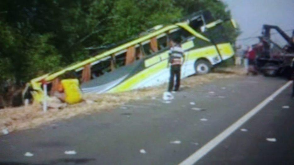 Rombongan Bus Study Tour SMPN 1 Pulokulon Kecelakaan, Empat Siswa Tewas dan 3 Luka Berat