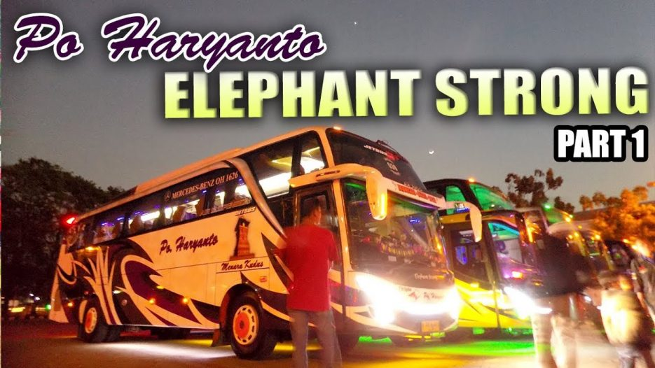 Banter Kah ?? KUDUS — DEPOK Trip  Report Bus Haryanto 39 aka Elephent Strong