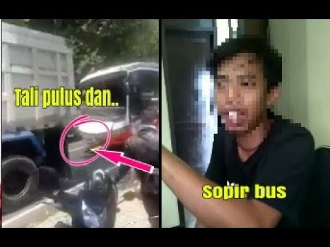 Saksi mata kecelakaan bus di cijambe subang
