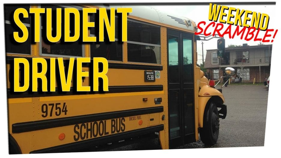 WS — Bus Driver Arrested for Letting Kids Behind the Wheel ft. Steve Greene & Nikki Limo