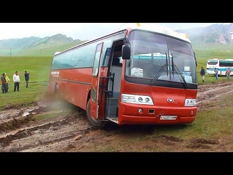 Amazing Most Talented  Bus Drivers On Hardest Difficult Road ● Crazy Off Road Bus Compilation (2)