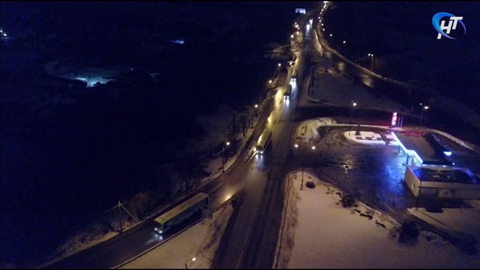 Эксклюзив НТ. В Великий Новгород едут автобусы из Москвы