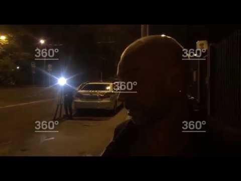 Пьяный водитель протаранил автобус в Москве