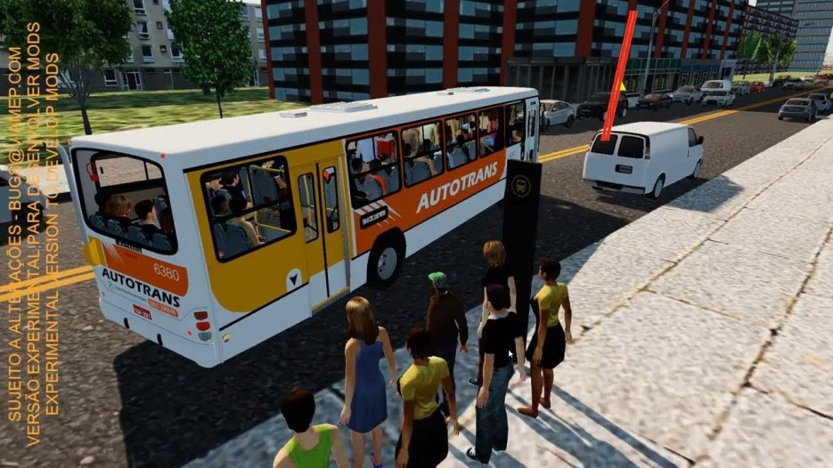 [Proton Bus Simulator] CONFUSÃO DENTRO do ÔNIBUS!! MARCOPOLO TORINO 99 VW