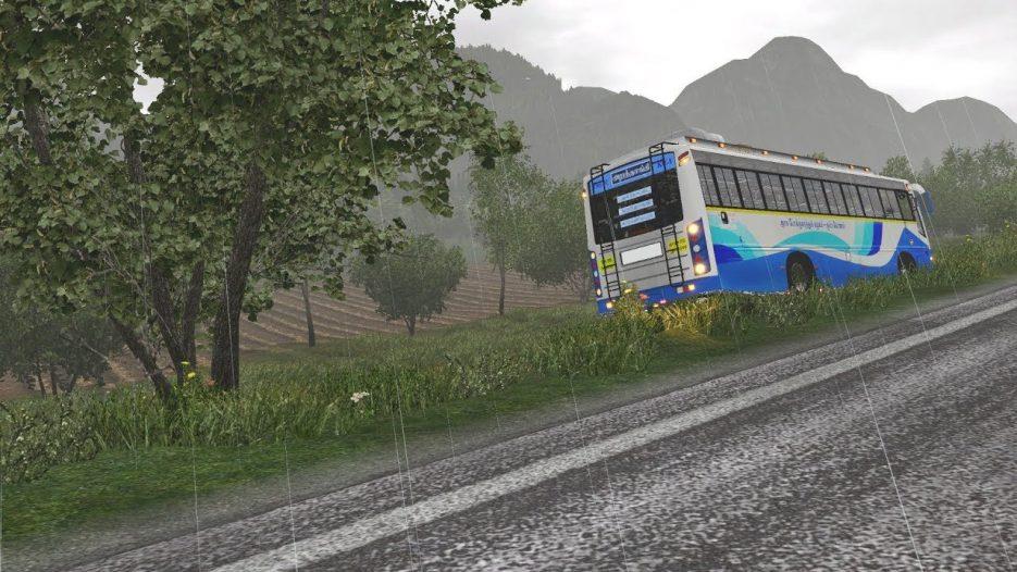 SETC Bus Overtaking Fail   Reckless Driving   Euro Truck Simulator 2 Ashok Leyland Bus Mod