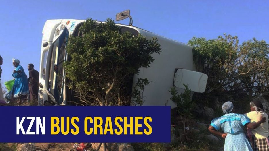 WATCH: Four bus crashes in one day leave 150 injured, two dead in KZN