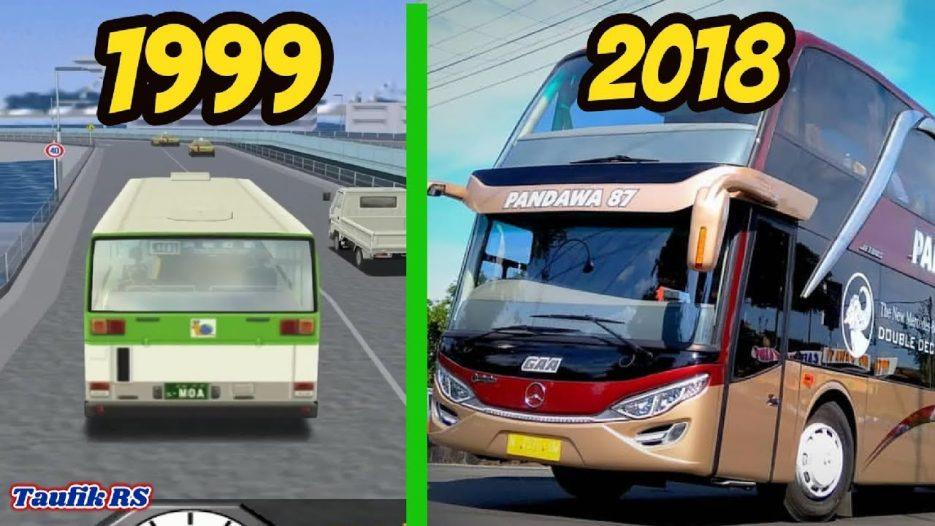 Evolution BUS Simulator Games 1999 — 2018